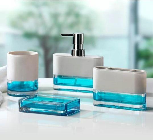 15 Wert-zu-Kaufen-Aqua Badezimmer-Zubehör-Set auf Amazon & Wayfair ...