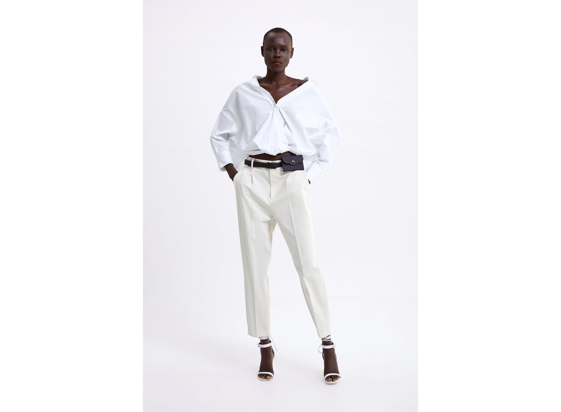 Pants With Darts And Belt Bag Trousers Women Pants For Women Pants