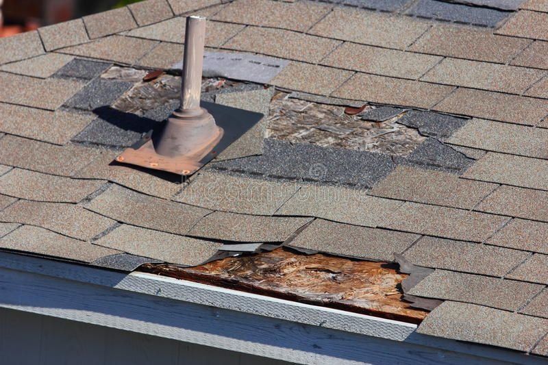 Roof Damage A Close Up View Of Shingles Being Blown Off A Roof And Other Roof D Sponsored Close View Ro Roof Repair Roof Leak Repair Flat Roof Repair