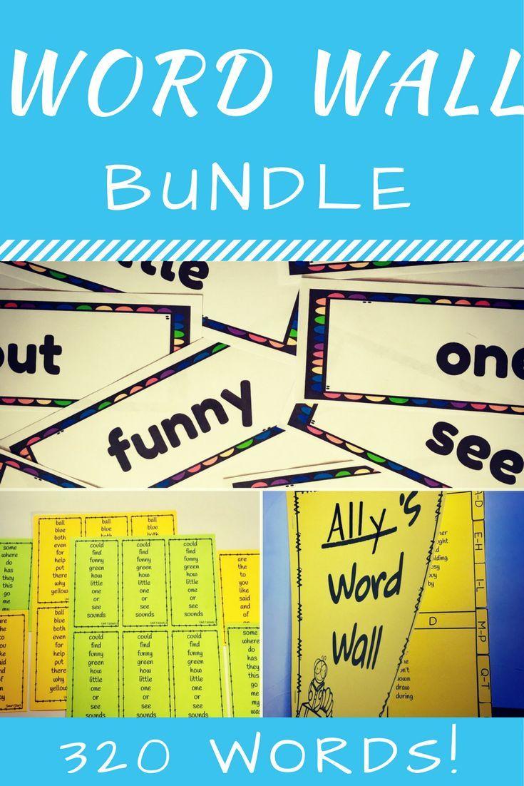 Word Wall Bundle (320 Words-Reading Wonders Grade 2 Aligned ...