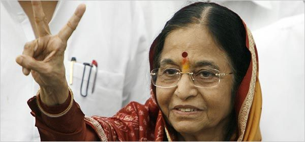 The first Female PRESIDENT of India - Pratibha Patil