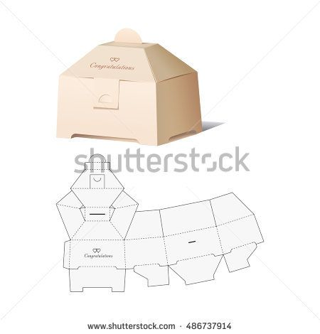 Retail box with blueprint template box 2 pinterest retail box retail box with blueprint template malvernweather Image collections