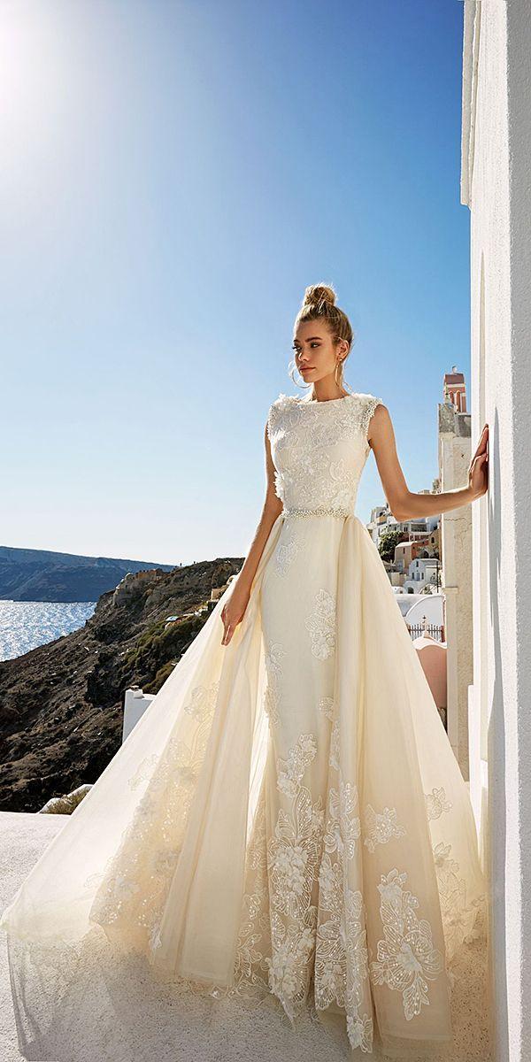 Eva Lendel 2017 Santorini Wedding Dresses Collection ❤ See more  http    d3d8f05bead0