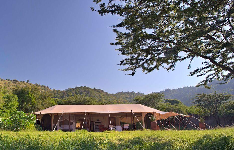 Honeymoon Tent  Cottar's 1920s Safari Camp © Copyright