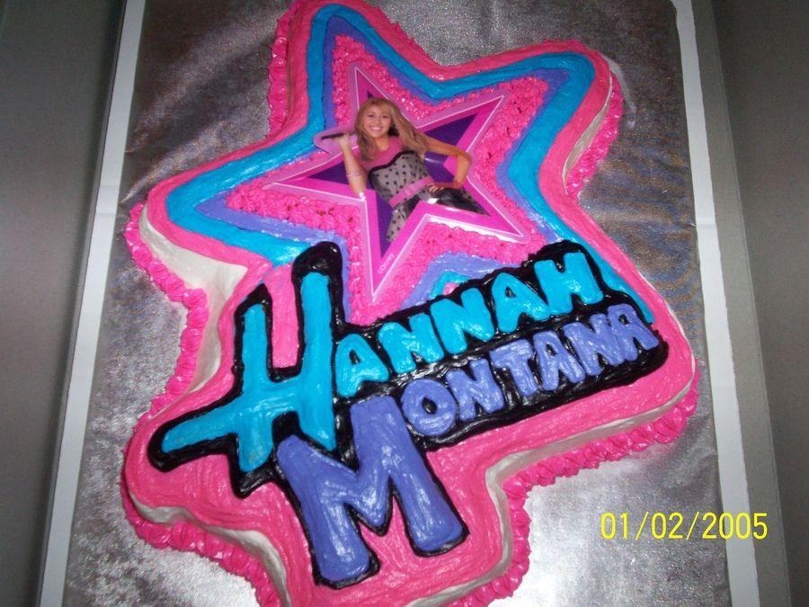 Outstanding Hannah Montana Cake 6Th Birthday Cakes Childrens Birthday Cakes Birthday Cards Printable Inklcafe Filternl