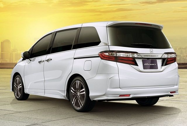 2018 Honda Odyssey Hybrid Rear View