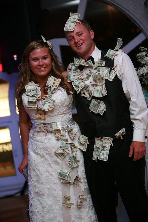 Dollar Dance People Pay To With The Bride And Groom They Get Spending Money For Honeymoon