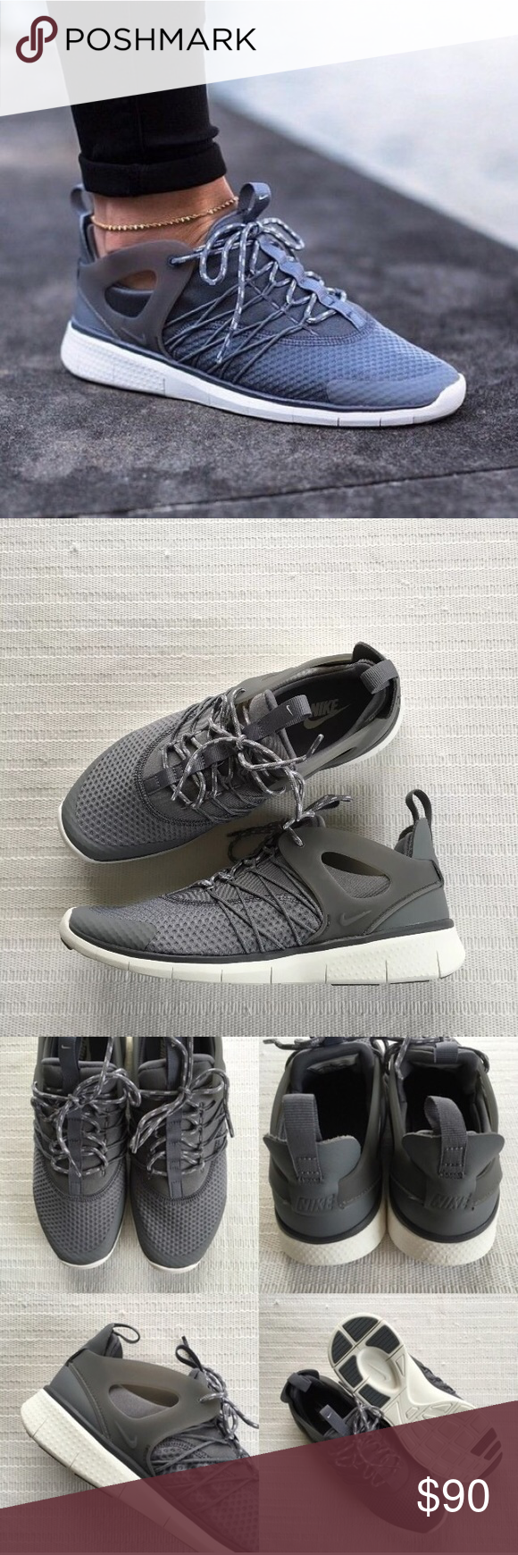 38d37aa1fd8f3 Women s Nike Free Viritous Grey Running Shoes Women s Nike Free Viritous  Grey Running Shoes Style Color  725060-004 • Women s size 8 • NEW in box  (no lid) ...