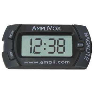 AmpliVox Sound Systems Digital LED Clock Panel Mount