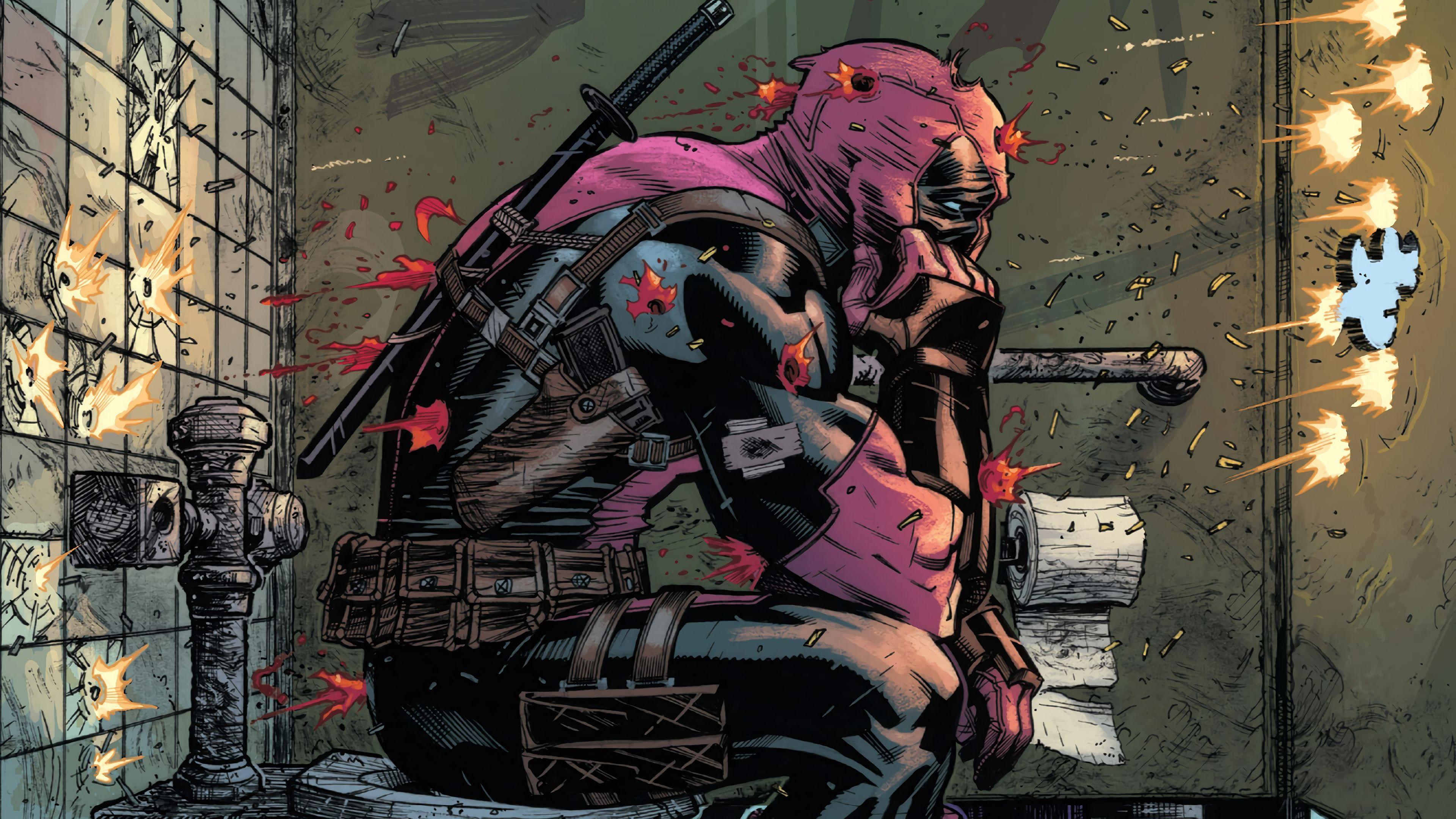 Deadpool Marvel Comics 4k Wallpaper Deadpool Comics Marvel Comics Deadpool Deadpool Comic Deadpool Wallpaper