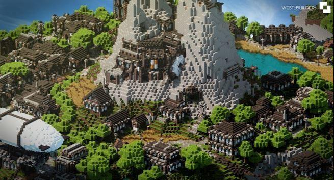 Скачать Карту Skylands для Minecraft