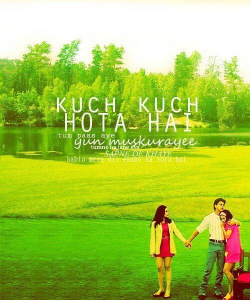 Kuch kuch hota hai | Kuch kuch hota hai, Bollywood quotes ...