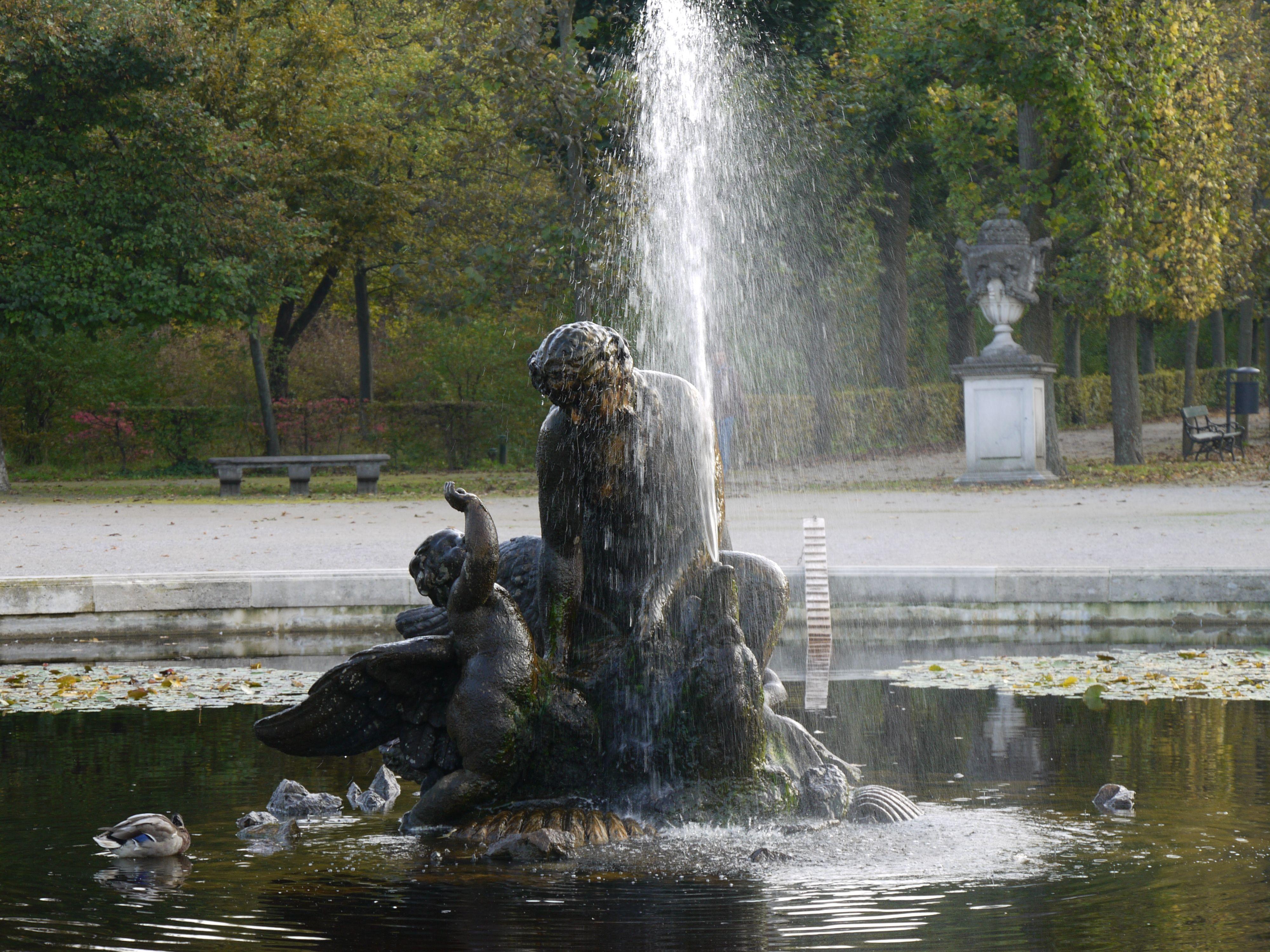 Najadenbassin Hietzing Wien Schlosspark Schonbrunn Schloss