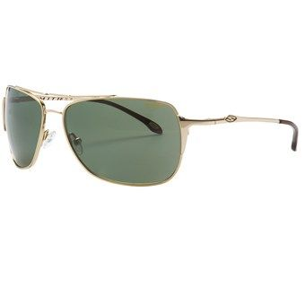3b05dce951caf Smith Optics Rosewood Sunglasses - Polarized (For Women) in Gold Grey Green