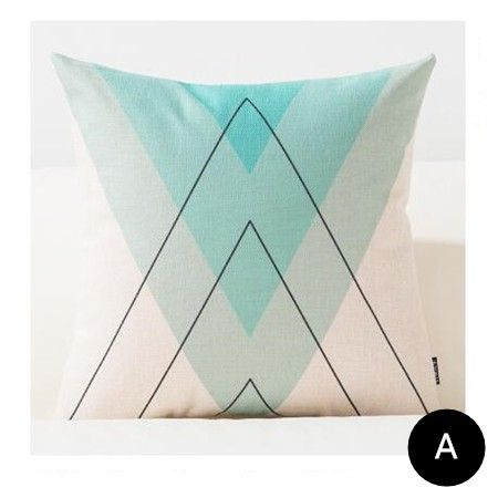 Modern minimalist Geometric decorative throw pillows for living room