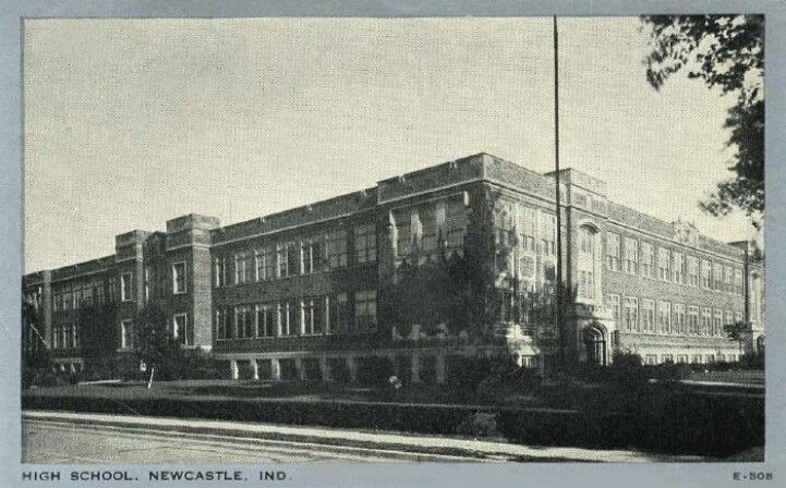 "8th & 9th grade building, New Castle. I only went there for 8th grade. Started 9th in what was then ""the new"" Parkview Jr HS."