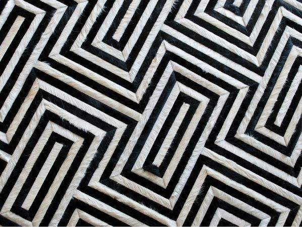 black and white geometric rug. black and white geometric rug rugs decoration. kyle bunting cowhide in bittersweet bold designs pinterest e