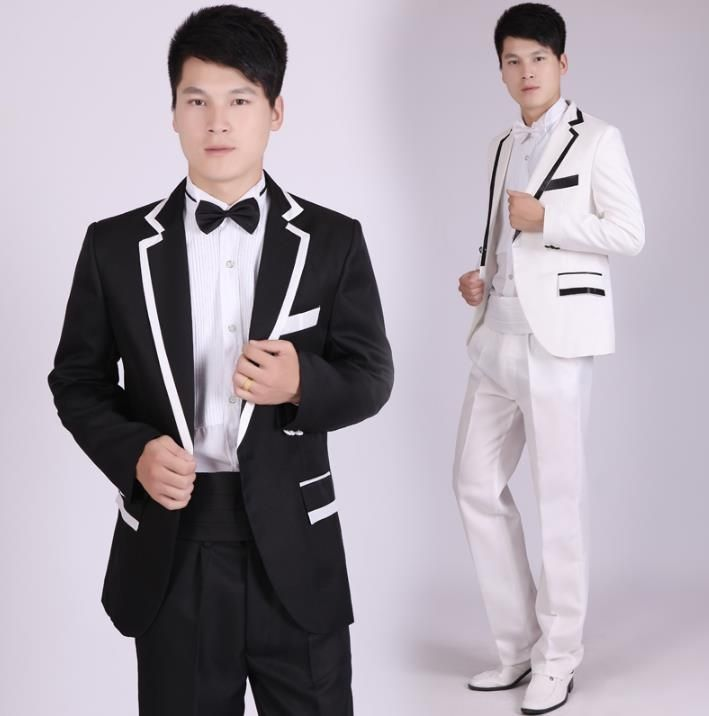 Blazer men formal dress latest coat pant designs suit men costume ...