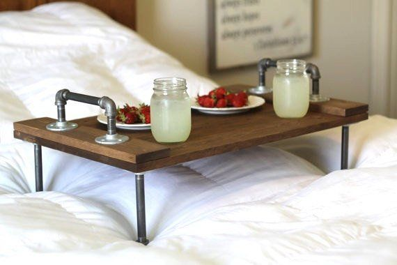 Rustic Industrial Wooden Bed Tray Rustic Decor Industrial Decor Industrial Tray Bed Tray Wooden Tray Gifts for Him Wood Tray Rustic Industrial Wooden Bed Tray Rustic Decor Industrial Decor Industrial Tray Bed Tray Wooden Tray Gifts for Him Wood Tray  PL