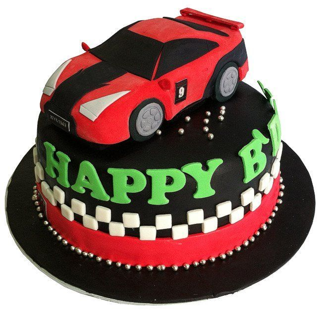sports car cake topper flicker Google Search Birthdays
