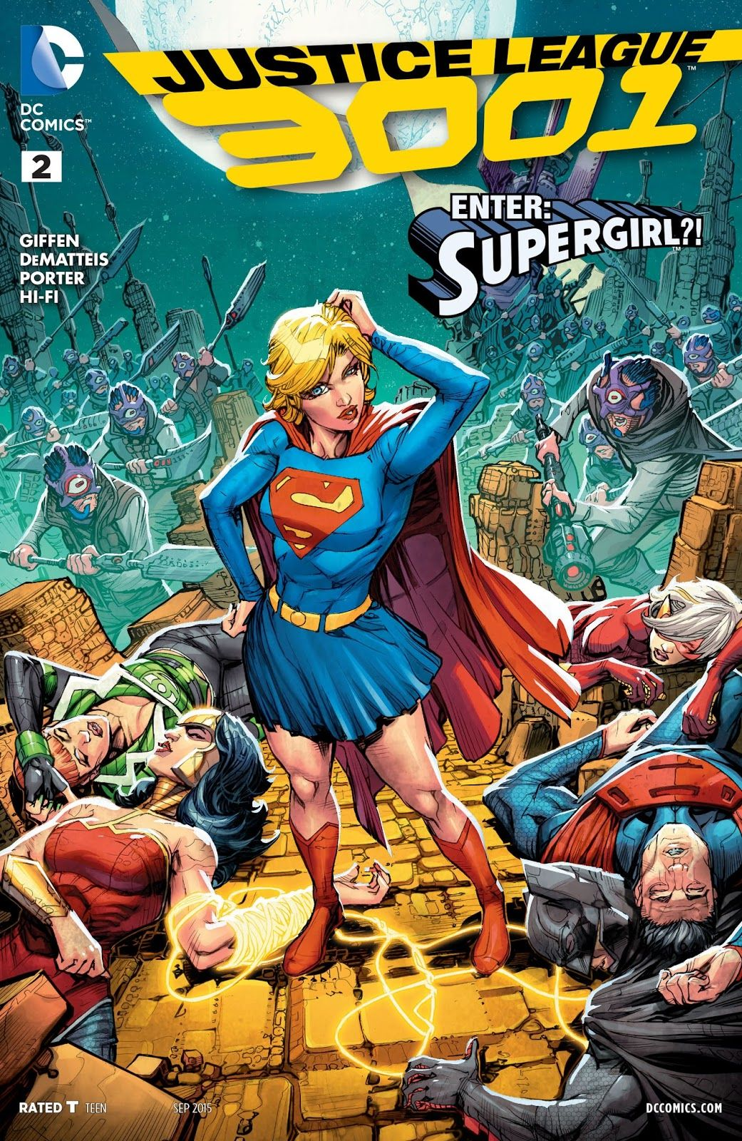 Wedge's Rambling Reviews : Are Reading Justice League 3001?