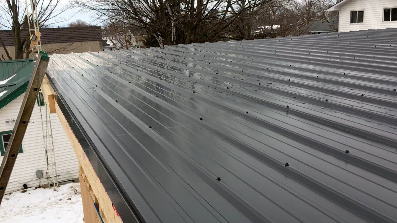 Best Ebp Metal Roofing Garage Flat Roof In 2019 Flat Roof 640 x 480