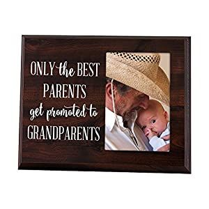 Elegant Signs Only The Best Parents Get Promoted to Grandparents Gift for Grandparents Ultras...