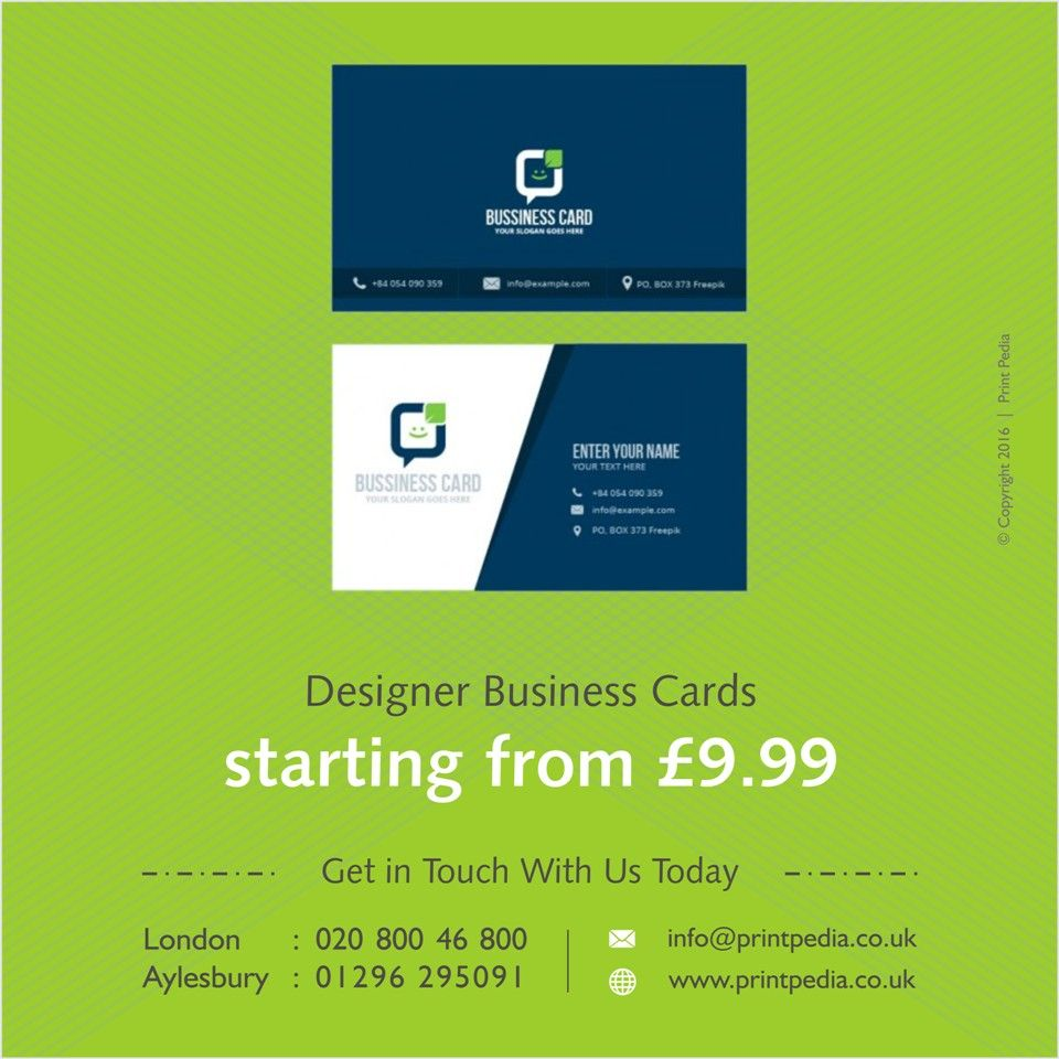 Designer business cards starting from 999 get in touch with us designer business cards starting from 999 get in touch with us today aylesbury 01296 295091 businesscards aylesbury buckinghamshire london bucks reheart Choice Image