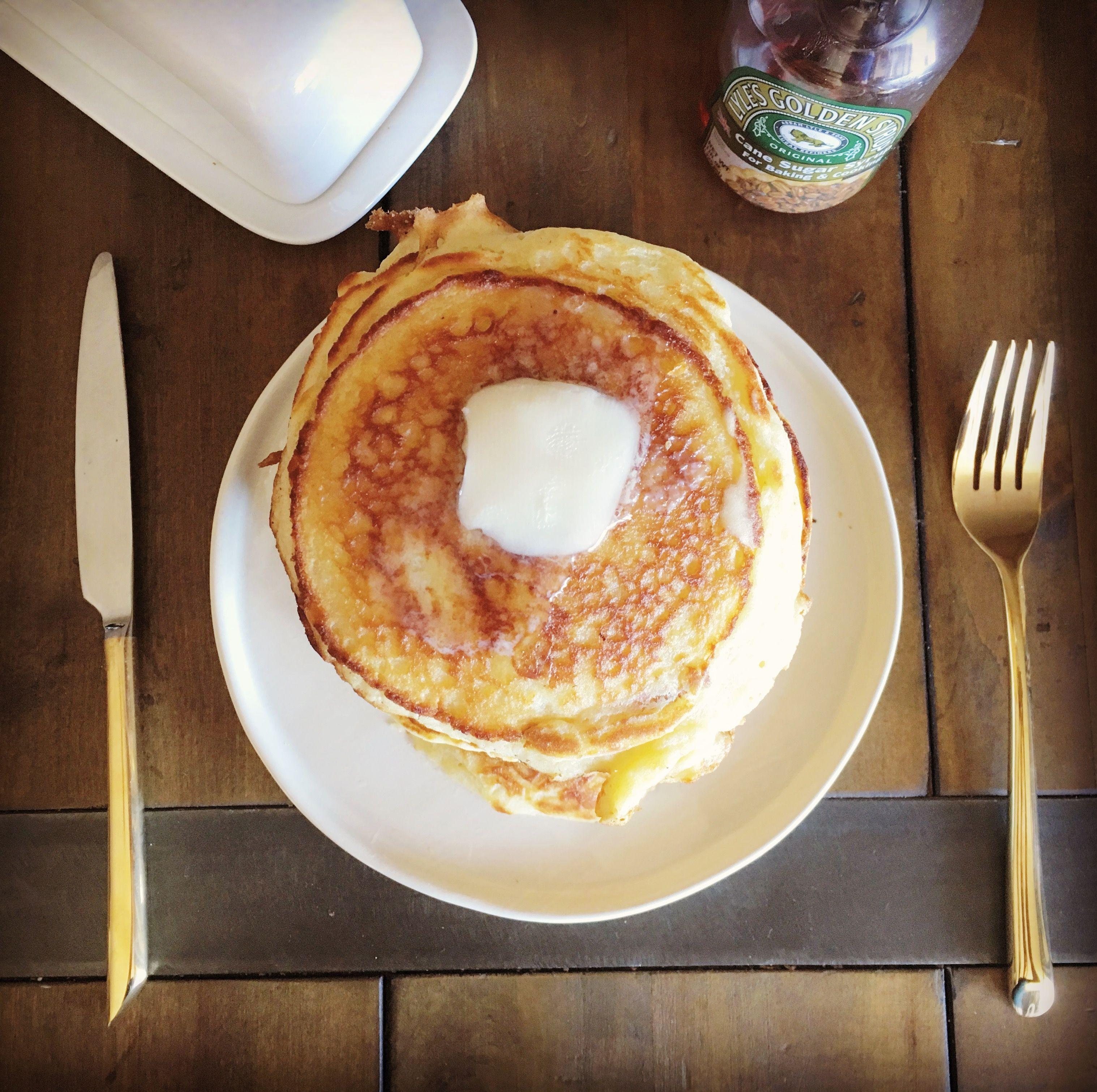 Whipping Cream Pancakes | Sweet cream pancakes recipe