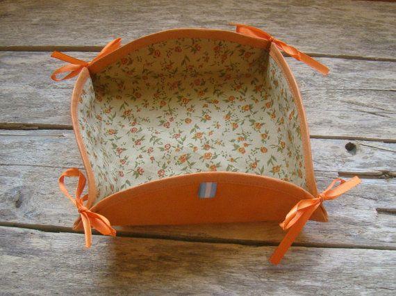 Organizador de tela Panera textil original canasta por TiaJoseta