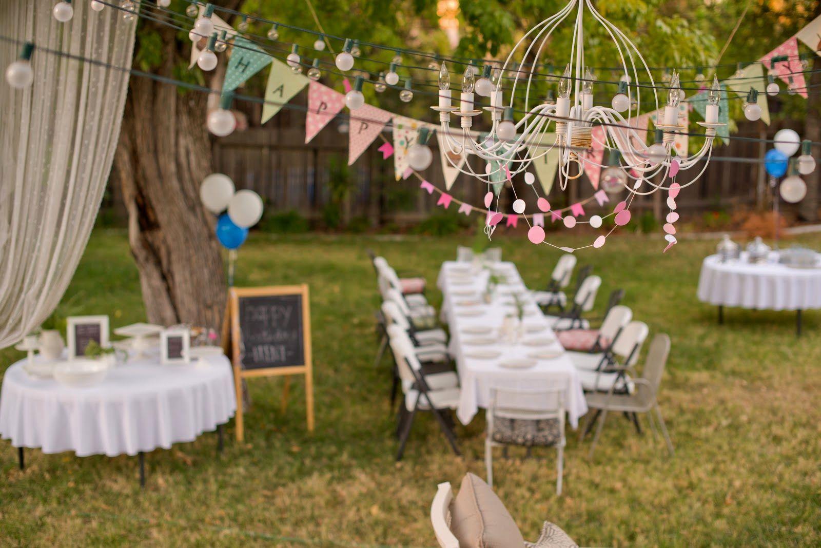 Ideas Of Backyard Birthday Party Events Pinterest