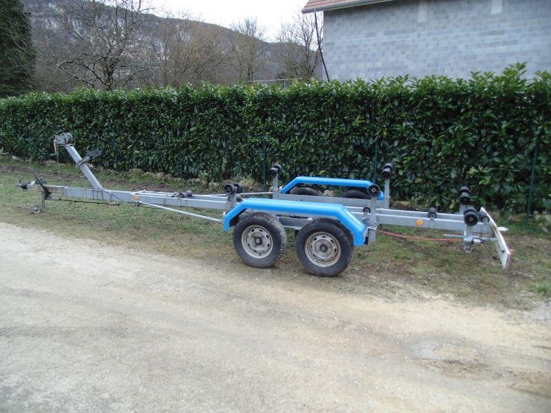 Remorque Bois 2 Essieux 750 Kg Dbd Remolque Para Carro Remolques Remolques De Carga