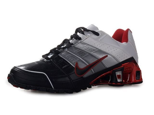 brand new e98d3 be475 Chaussures Nike Shox NZ Noir Gris Blanc Rouge nike12070 - €