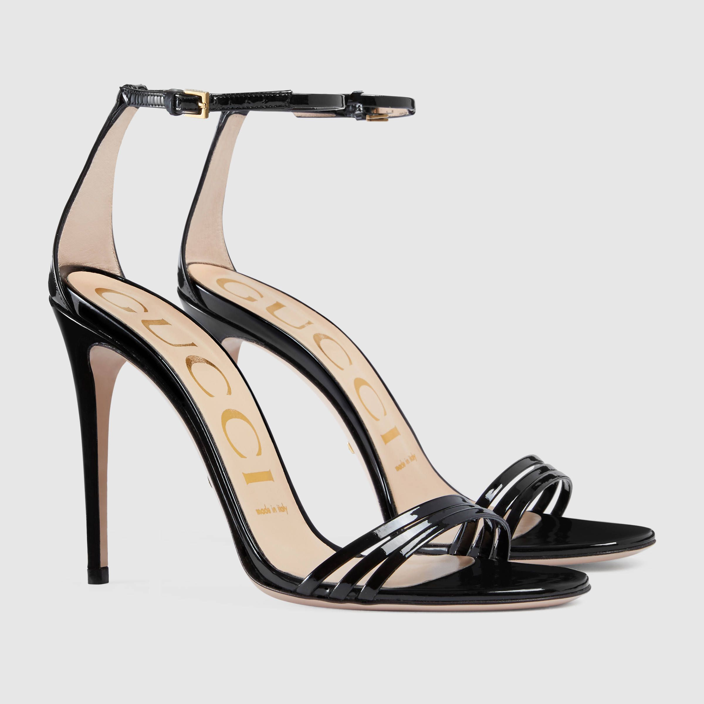 a52f98986aa Patent leather sandal in 2019
