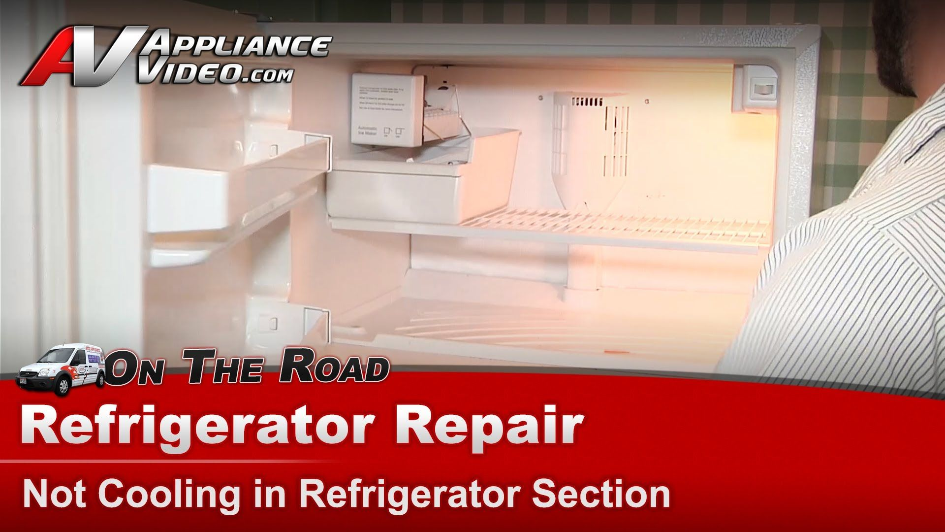 Kenmore Refrigerator Repair Not Cooling In The Refrigerator Section Refrigerator Repair Refrigerator Kitchenaid Refrigerator