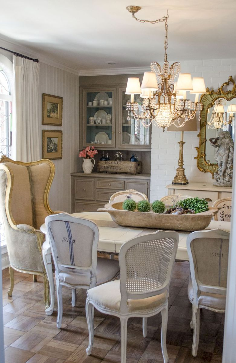 Modern French Country Dining Room Table Decor Ideas 29  Dining Impressive French Country Dining Room Decorating Ideas 2018