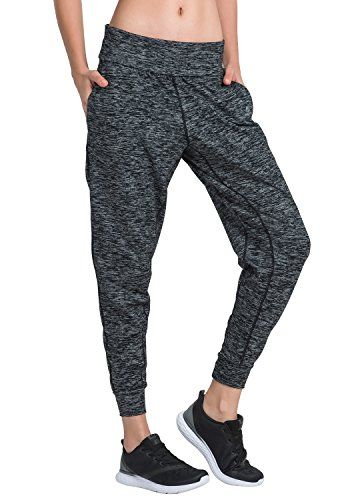 Womens Yoga Pants with Pockets Sweatpants Drawstring Lounge Joggers Running Active Casual Trousers