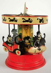 The Gunthermann (Germany) Felix Carousel wind-up toy