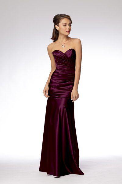 Bridesmaidtoo Red Violet