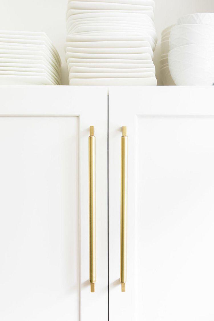 Brass kitchen cabinetry hardware e th pinterest kitchen