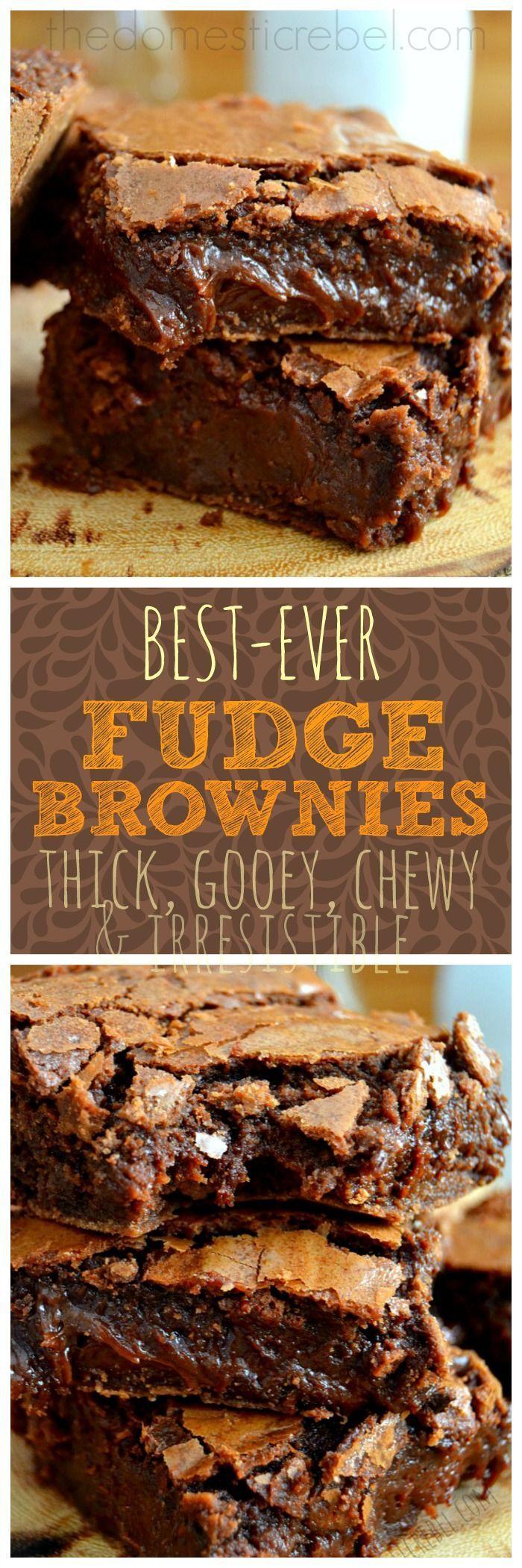 recipe: gooey chocolate fudge brownie recipe [38]