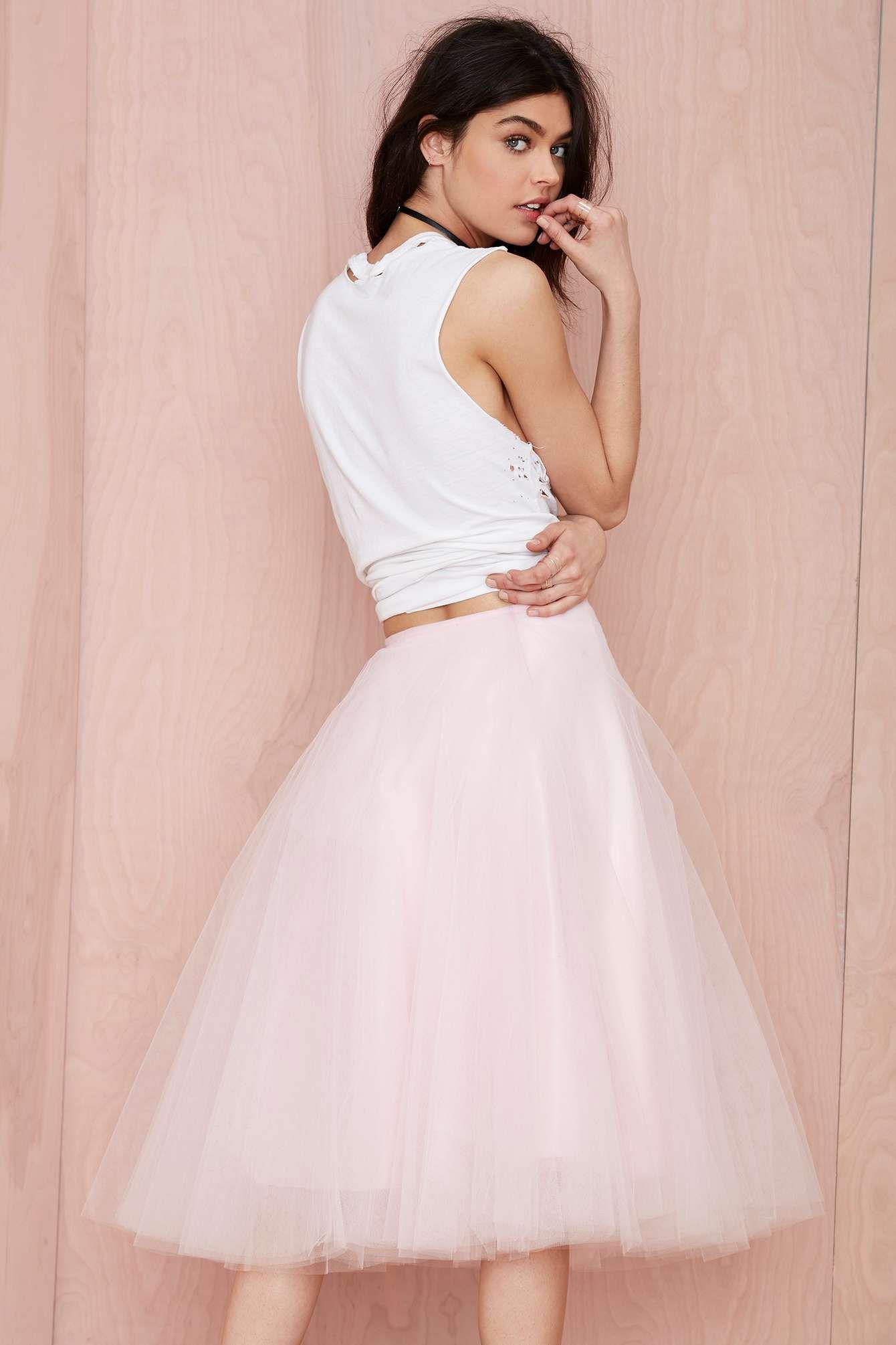 Tulle Skirt   encantador   Pinterest   Falda, Tul y Outfits con faldas
