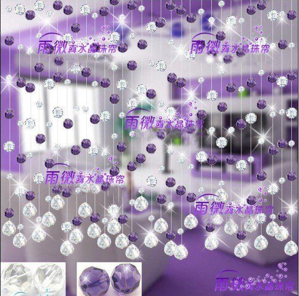 cortinas de cristal cortinas pinterest cortinas cristales y cortinas de cuentas. Black Bedroom Furniture Sets. Home Design Ideas