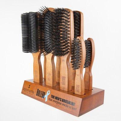 Spornette B 100 Bolero Men S Hair Brush 8 Piece Salon Hair Brush Display Mens Hair Brush Hair Brush Hair Dryer Brands