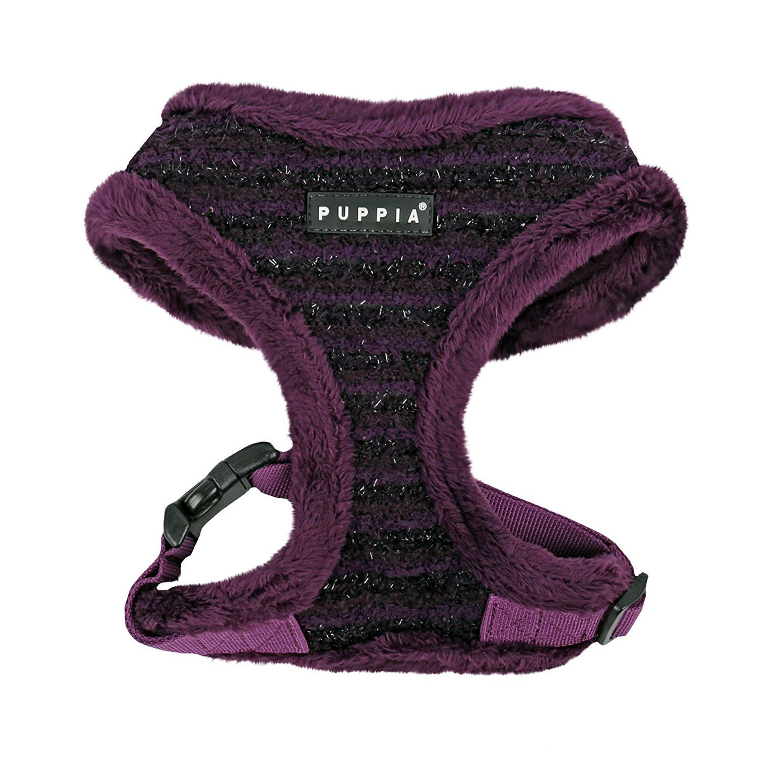 Puppia Authentic Wafer Harness A, Large, Purple ** Check out this great product. (This is an affiliate link and I receive a commission for the sales)