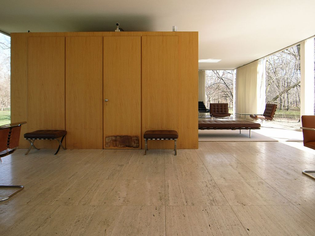 Farnsworth house arquitectura detalles constructivos y for Arquitectura casas pequenas