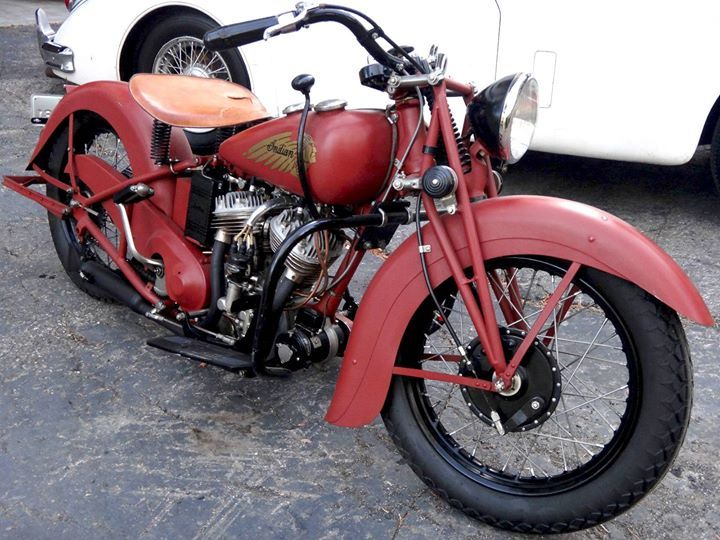 Pin By Eddy Stewart On Bobbers Classic Motorcycles Indian Motorbike Vintage Indian Motorcycles