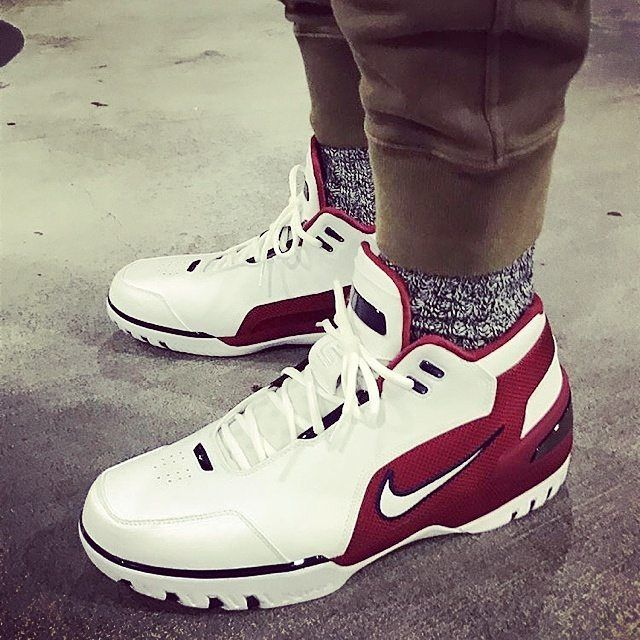 A closer look at the Nike Air Zoom Generation worn by  <td style=