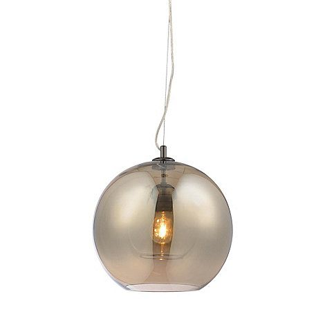 Home collection maria champagne glass pendant light