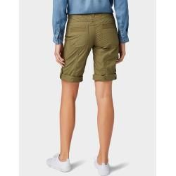 Photo of Tom Tailor Damen Helen Bermuda Shorts, grün, unifarben, Gr.42 Tom TailorTom Tailor